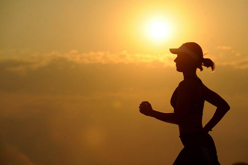 ออกกำลังกายด้วยการวิ่ง
